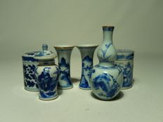 Lot of miniature objects - China - 18th and 19th century