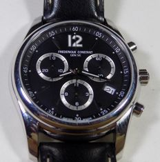 Frederique Constant FC 292 - 3 Regs Chrono - Black Dial - 2010 - Men's Chronograph