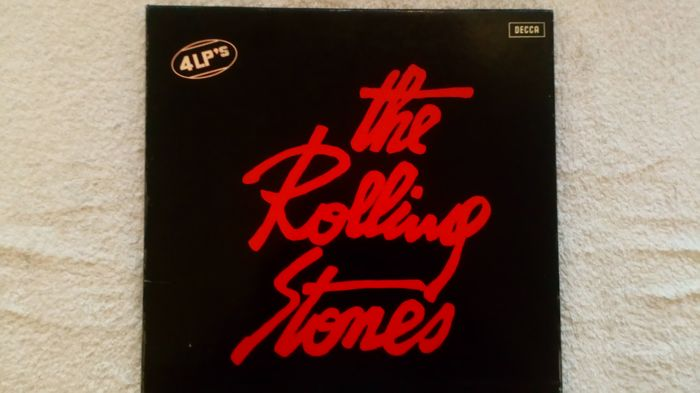 a very good lot on offer! a beautiful 4lp box by the Rolling Stones.
