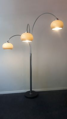 Dijkstra Lampen - vintage arch lamp with 3 arches