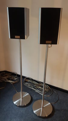 Set Quadral IPSO Phonologue C speakers on stand