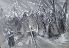 Anonymous - (20th century) - Processione
