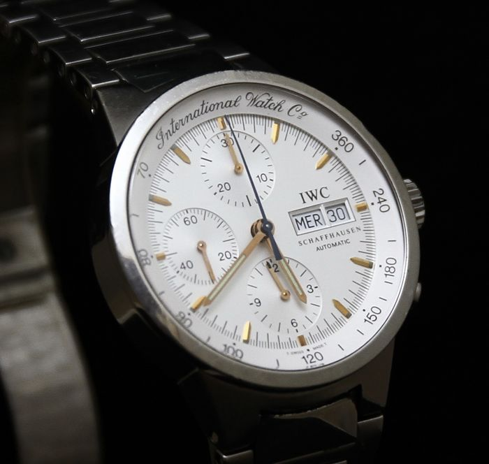 IWC GST Chronograph – IW370713 – Men's wristwatch – 2000-2010