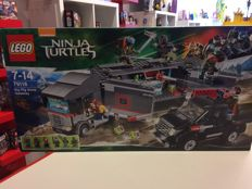 Teenage Mutant Ninja Turtles - 79116 - Big Rig Snow Getaway