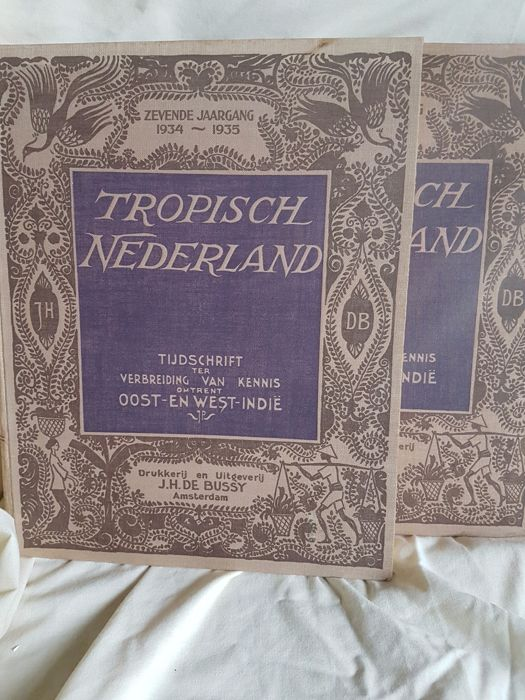 Indonesia; Tropisch Nederland. - 7th + 8th Volume - 2 Volumes - 1934 / 1936