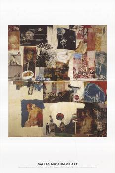 Robert Rauschenberg (after) - Skyway - 1986