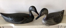 Two Dutch painted decoys, first half 20th century