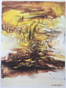 Zao Wou Ki (after) - Untitled