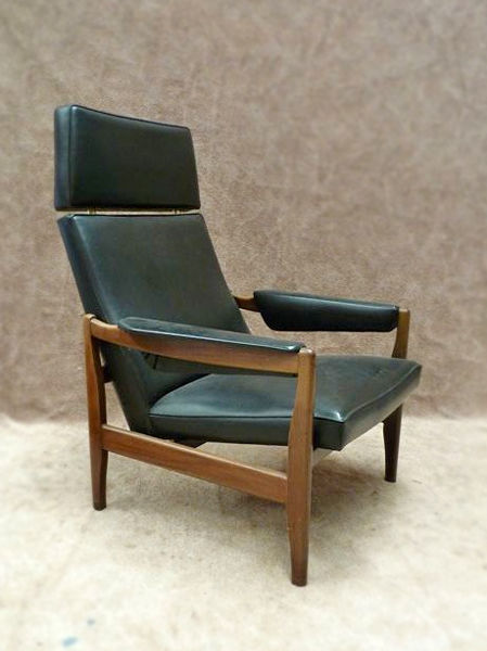 Designer unknown - Vintage mid-century modern lounge chair