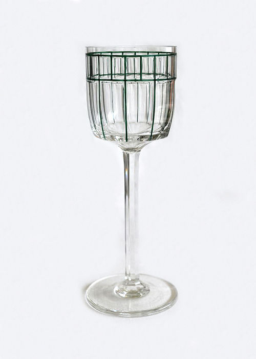 Frhr. von Poschinger'sche Crystal Glass Factory - Jugendstil wine glass