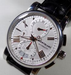 Montblanc Meisterstuck Star - 7104 Chrono - All Pattern Dial - 2015 - Men's Chronograph