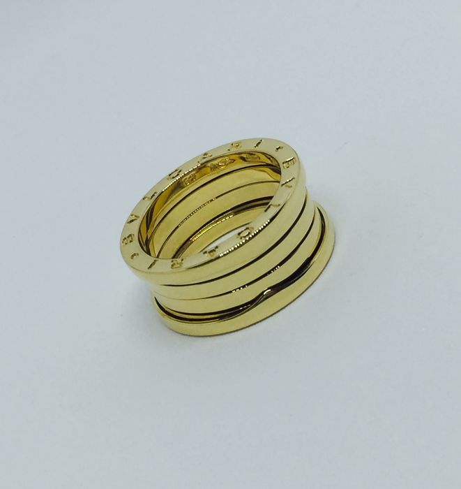 Bulgari B.Zero ring - 18 kt yellow gold - 12.3 g - 17.5 mm