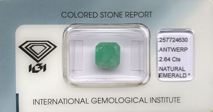 Emerald of 2.64 ct