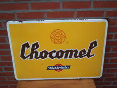 Nutricia Chocomel enamel sign / advertising sign - 1950s/60s