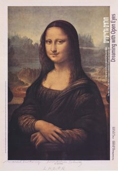 Marcel Duchamp (after) - L.H.O.O.Q. (Mona Lisa) - 2000