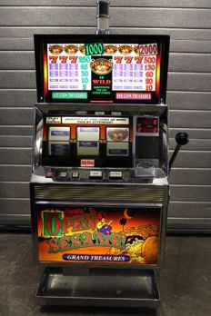 BALLY GRAND TREASURES System 5500 Plus Slot machine from casino