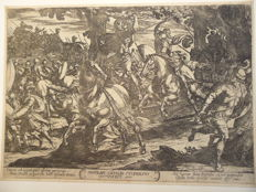8 prints by or after Antonio Tempesta (1555-1630) - Various representations