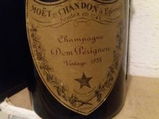 1955 Dom Perignon Vintage Champagne - 1 bottle with wood box