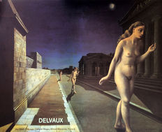 Paul Delvaux - 2x Art 1980 Chicago - 1980