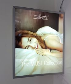 Silhouette - The must collection , light box - 20th century