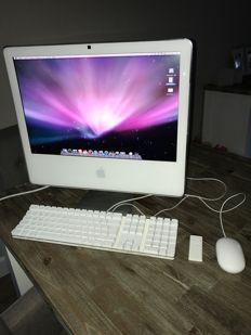 Apple iMac 5G - 20 inch - complete with original Apple keyboard and mouse, and Apple Remote