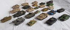 Collection of model tanks - 6 - 16 cm