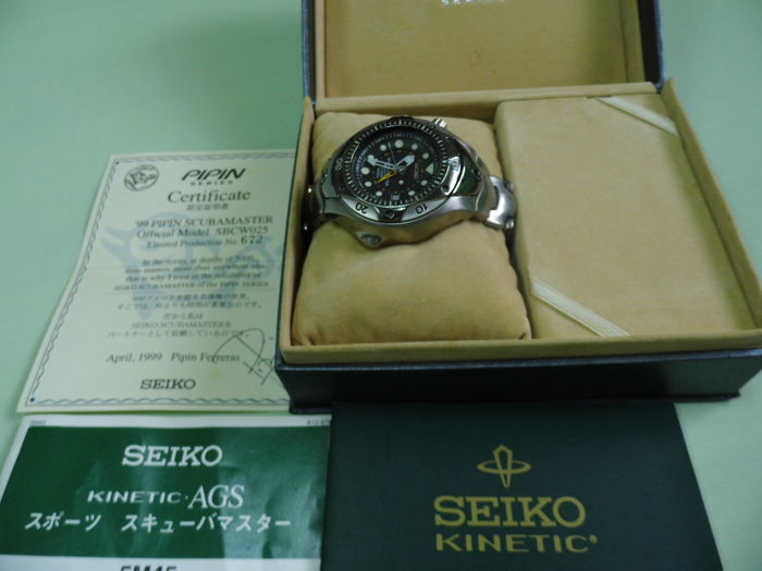 Seiko scuba master-Men's watch - 1999.