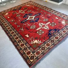 Stunning modern Kazak rug with special design - 287 x 214 cm - very good condition and fantastic look