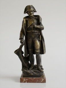 Bronze statue of Napoleon