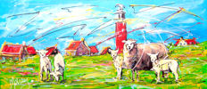 Mathias - Dutch holiday, sheep on Texel
