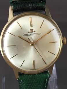 Jaeger-LeCoultre 18k Gold Men's wristwatch -- Around the 1960s