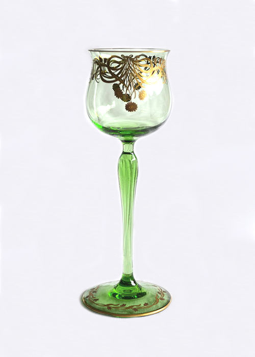 Theresienthaler crystal glass factory - Jugendstil stemware