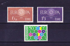 Europe issues CEPT from 1960 – and very complete collection from 1979 to 1986 with all blocks and small Monaco sheets.