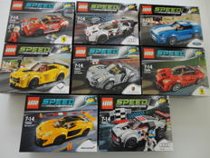 Speed Champions - 75908 - 75909 - 75910 - 75870 - 75871 - 75872 - 75873 - 75899 - including Porsche 918 Spyder - LaFerrari.