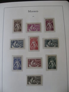 Monaco 1941-1949 – Stamp collection including airmail