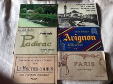 a lot of book cards France and other countries, as well as one of the cards in bulk and a lot of views