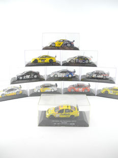 Minichamps - Scale 1/42 - Lot with 11 Opel Race Cars