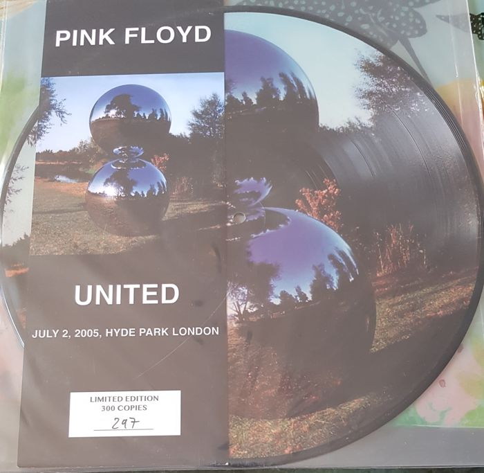 Pink Floyd  2 pictures disc   U.N.I.T.E.D. + Wish You Were Here