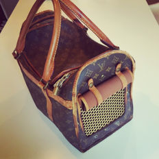 Louis Vuitton – Dog carrier – Collector's Item – Vintage 1985
