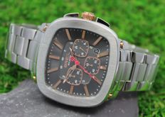 Breil Milano Men's Stainless Steel Strap Chronograph Watch - New & Mint Condition