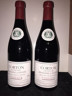 2011 Corton Grand Cru, Louis Latour , Cote de Beaune - 2 bottles (75cl)