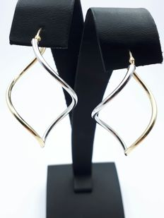 14 Kt. Gold Twist Earrings