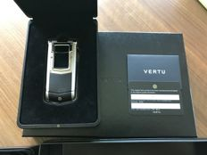 Vertu Constallation Ayxta - Handmade in UK - Stainless steel - Leather - Ceramic -  Sapphire glass screen