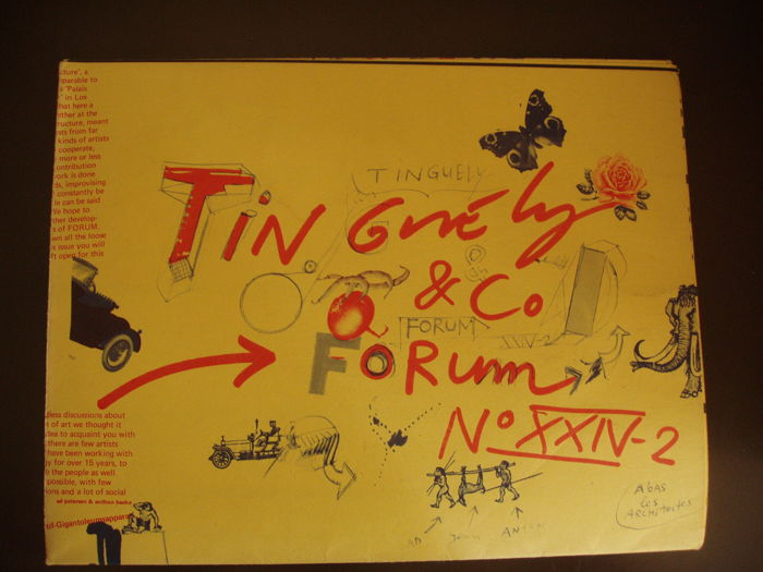 Ad Petersen & Anthon Beeke - Tinguely & Co Forum No XXIV-2 - 1973