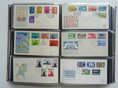The Netherlands 1952/1999 – collection of First Day Covers in two Davo albums