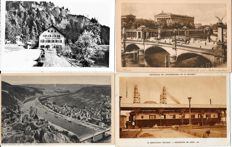 lot of 250 small format postcards of Europe mostly topography from 1902 onward.