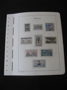 Monaco 1960-1973 – Stamp collection