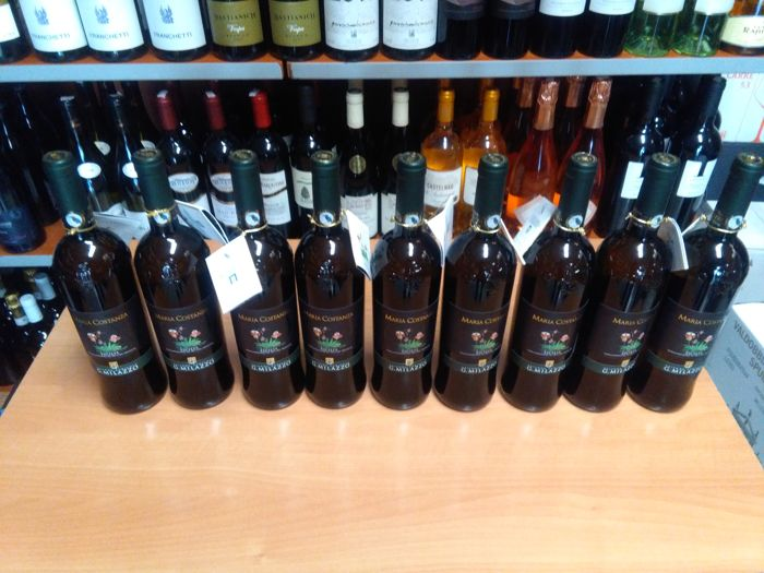 2017 Milazzo, Maria Costanza - 9 bottles(75cl)