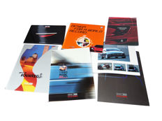 "5 fine presskits from Italdesign/Giuaro: Alfa Romeo Brera 2002. The study of the Volkswagen W 12 racing car 1997-2002. The Maserati Buran and from Fiat a 1980-2000 jubilee model of Fiat Panda. Added the book: ""Carrozzeria Italiani 1997"""