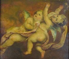 Unknown (19th century) - Two Putti